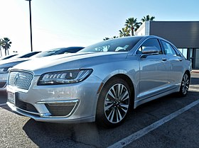 Image illustrative de l'article Lincoln MKZ