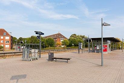 So kommt man zu Lindholm Station mit den Öffentlichen - Mehr zum Ort Hier