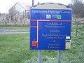 Lindisfarne Heritage Centre sign - geograph.org.uk - 741632.jpg