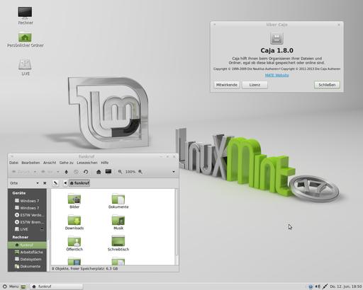 Linux Mint 17 MATE