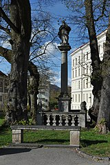 Mariensäule, Kreuzweg, Linz-Urfahr