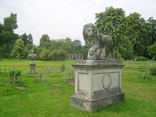 Lion Statue Kedleston Geograph-2695548-by-Trevor-Rickard