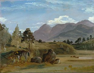 Mountain Landscape, possibly in the Lake District