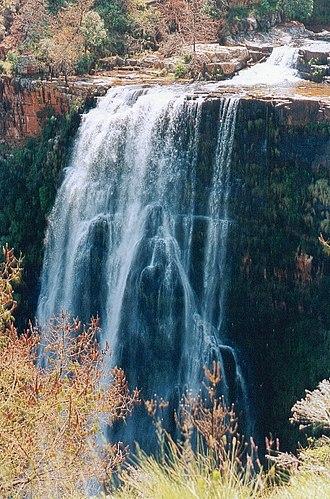 Lisbon Falls (waterfall) - Image: Lisbon Falls Tvl