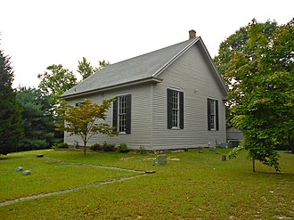 Tuckerton, New Jersey - The Little Egg Harbor Friends Meeting House, built in 1863