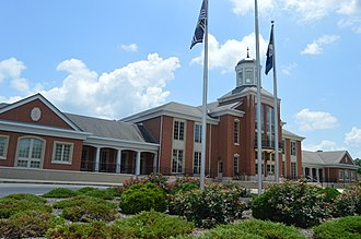 Smithland, Kentucky - Current Livingston County Courthouse