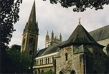 English: Llandaff Cathedral Another cathedral ...