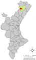 Localització de Benassal respecte del País Valencià.png