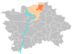 Location map municipal district Prague - Ďáblice.PNG