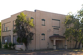 National Register of Historic Places listings in Caldwell County, Texas - Image: Lockhart vocational school 2011