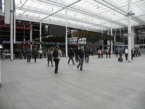 London Bridge station - The Shard concourse at London Bridge