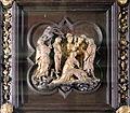 Lorenzo ghiberti e aiuti, porta nord del battistero di firenze, cornici, 10 resurrezione di lazzaro 2.JPG