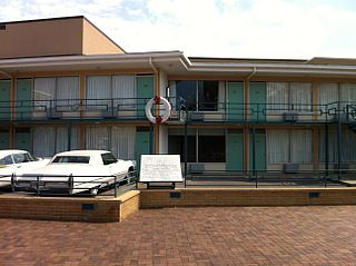 Assassination of Martin Luther King Jr. 1968 shooting at the Lorraine Motel in Memphis, Tennessee, USA