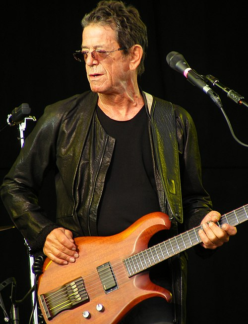 Reed performing at the Hop Farm Festival in Kent, 2011 - Lou Reed