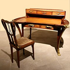 Louis majorelle wikimonde for Bureau meuble wikipedia