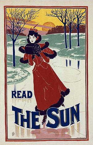 Louis Rhead - Read The Sun. 1900