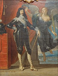 Philippe de Champaigne: Louis XIII Crowned by Victory