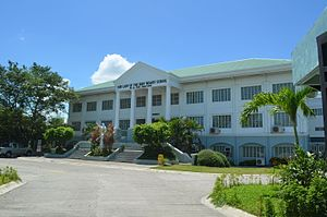Our Lady of the Holy Rosary School - Luminous Building: The first structure built at the new Mulawin Campus.
