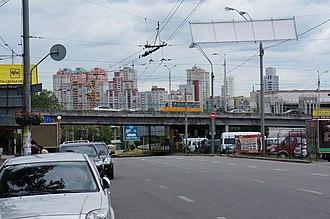 Holosiivskyi District - Image: Lybidska 2