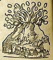 Lycosthenes, Éruption d'un volcan.jpg