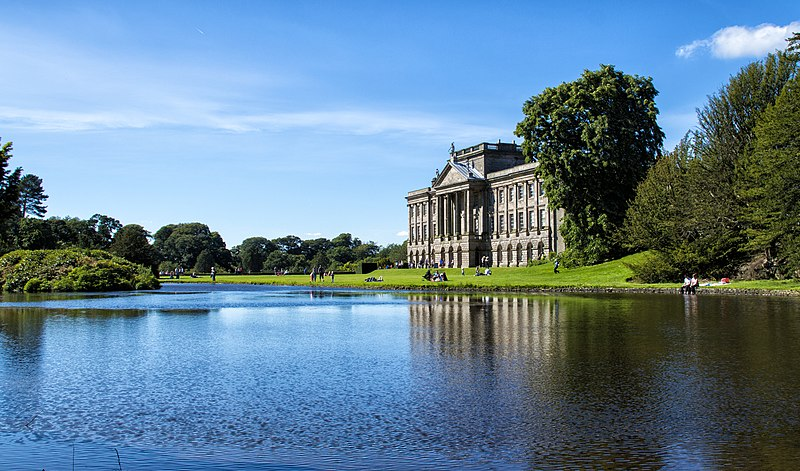 File:Lyme Park Across the Lake.jpg