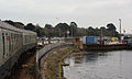 Lymington Pier railway station MMB 01 421497.jpg