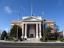 Lyon County Courthouse in Yerington