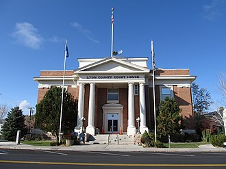Lyon County, Nevada - Image: Lyon County Courthouse (Nevada)