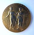 Médaille ARGENT VERMEIL. Horticulture Gironde 1926. Graveur Alphée DUBOIS (1831-1905) (1).JPG