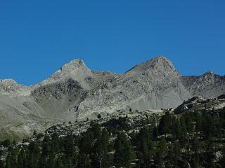 Massif des Trois-Évêchés mountain massif in the southern French Alps