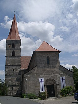 Church in Aurachtal