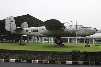 Indonesian Air Force - Indonesian Air Force B-25 Mitchell at the Jakarta Armed Forces Museum