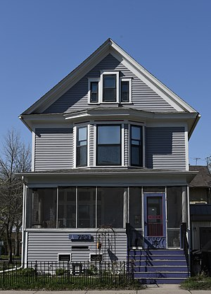 National Register of Historic Places listings in Cass County, North Dakota - Image: M.E. Bebe Historic District