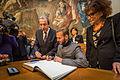 M. Pokora signature livre d'or ville de Strasbourg 12 février 2014.jpg