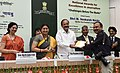 M. Venkaiah Naidu giving away the National Awards for Excellence in Journalism, at the Valedictory of Golden Jubilee celebrations of the Press Council of India, on the occasion of the National Press Day, in New Delhi (6).jpg