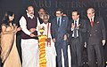 M. Venkaiah Naidu lighting the lamp at the inauguration of the first edition of ABU International Dance Festival (AIDF), in Hyderabad.jpg