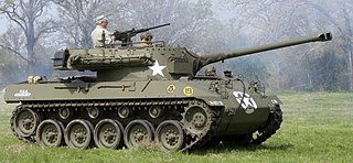 M18 Hellcat Type of Tank destroyer