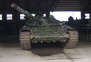 Army of Republika Srpska - M-84 main battle tank of VRS