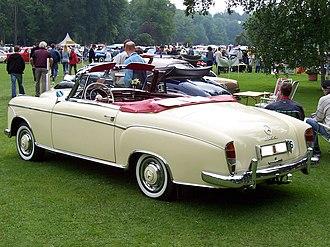 Mercedes-Benz W187 - Image: MB W180 220S cab A