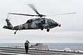MH-60S of HSC-15 takes off from USS Carl Vinson (CVN-70) in 2014.JPG