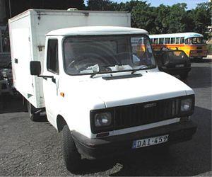 Freight Rover - Freight Rover Luton Van