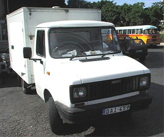 Freight Rover - Freight Rover Luton Van