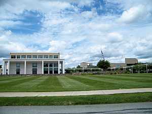 Mitre Corporation - The Mitre Center at Mitre's campus in Bedford