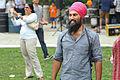 MPP Jagmeet Singh at his annual community BBQ in 2014.jpg