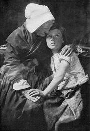 Representación inspirada en la guerra (1917).