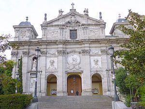 Justicia (Madrid) - Image: Madrid Iglesia de Santa Bárbara (ex Convento de las Salesas Reales) 03
