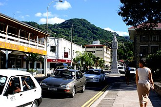 Mahé, Seychelles - Image: Mahecapital