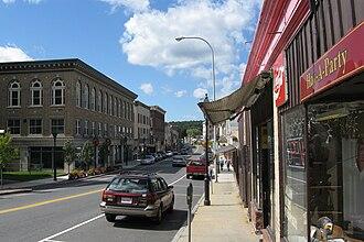 Athol (CDP), Massachusetts - Main Street