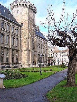 Château d'Angoulême - The polygonal Tour de Lusignan, remnant of the original castle