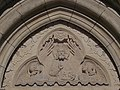Majestas Domini relief, Matthias Church , 2016 Budapest.jpg